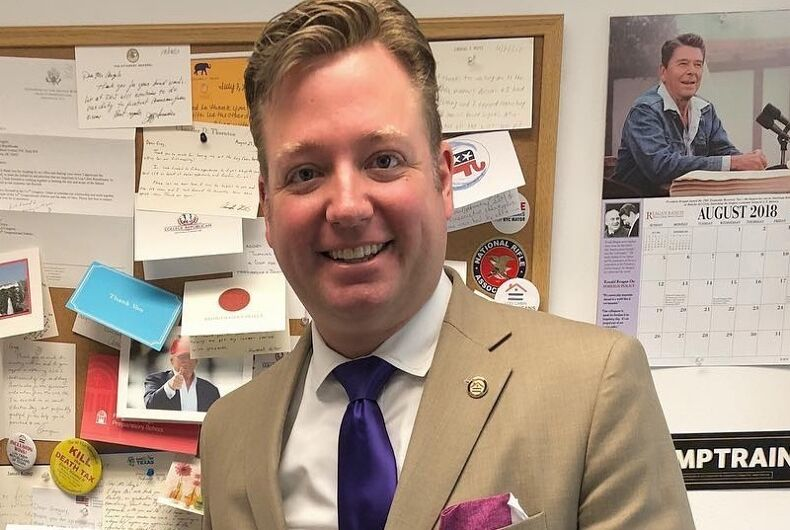 Former Log Cabin Republicans president Gregory Angelo