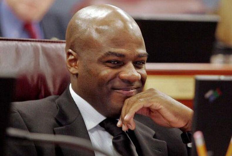 Former Nevada state Senate Majority Leader Kelvin Atkinson