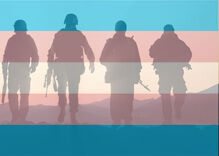 Federal appeals court will allow the transgender military ban to go into effect in April