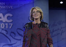 Betsy DeVos won't say that she opposes discrimination against LGBTQ students