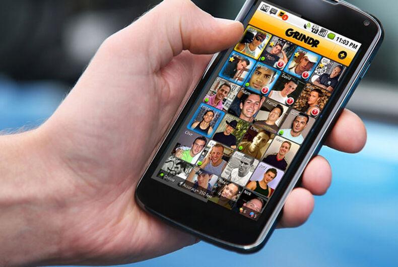 Gay hookup app Grindr