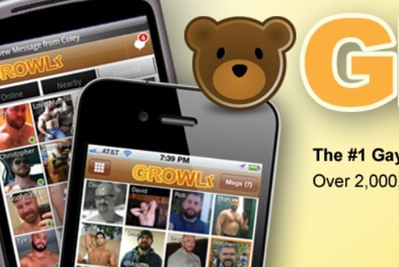 Growlr app and logo