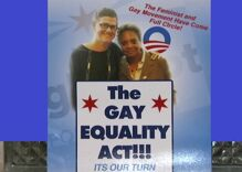 Disgusting church flyers claim Chicago candidate for mayor will give all the jobs to gay people