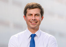 Gay presidential candidate Pete Buttigieg wins spot on 2020 debate stage