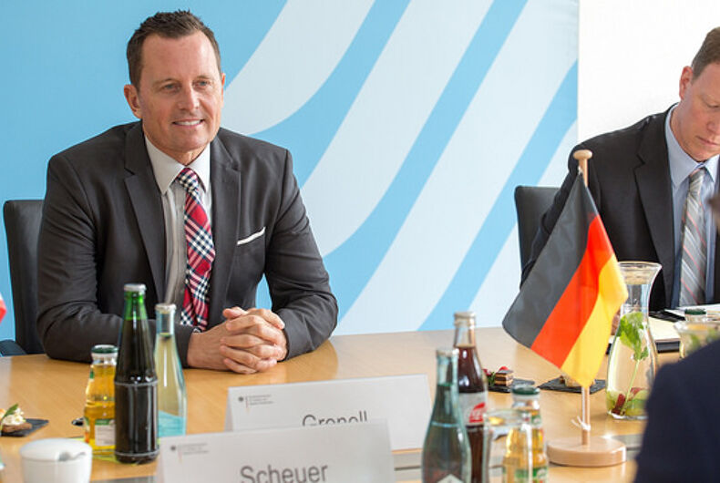 US ambassador to Germany, Richard Grennell