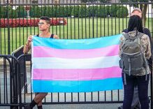Dear President Biden: I created the trans flag. Please tell our embassies to fly it.
