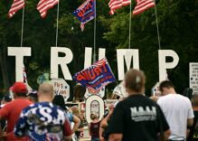 The New Zealand terrorist used white supremacist rhetoric echoed by Trump