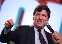 Tucker Carlson outed as a fan of gay icon Harvey Milk's killer