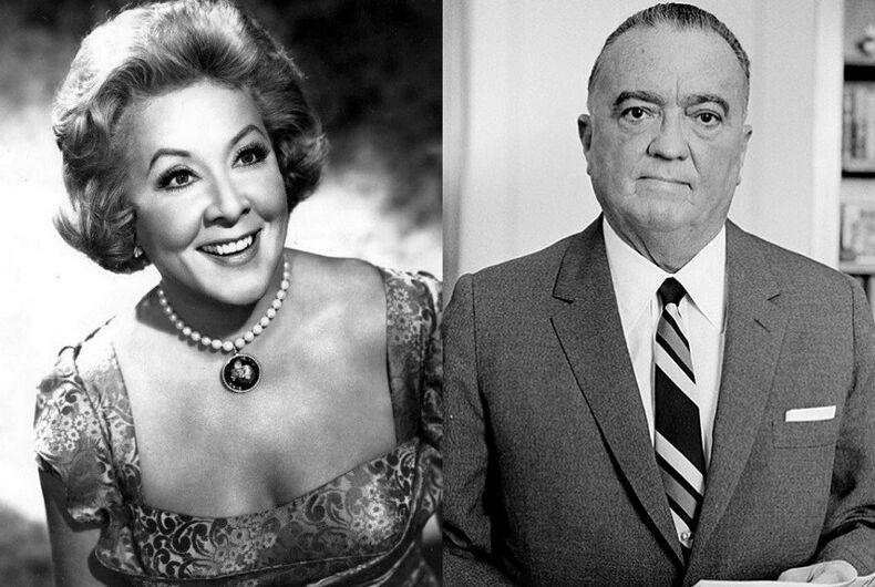 Did Tim Gunn meet J. Edgar Hoover while the former FBI director was dressed as a woman?