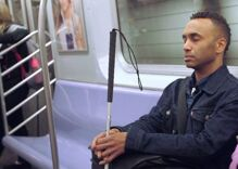Anyone afraid of losing their sight should see this film by a gay, visually impaired filmmaker