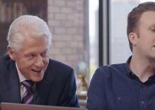 Watch Hillary Clinton gleefully read the Mueller report like an audiobook