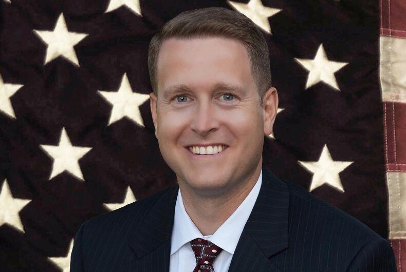 Washington state Republican legislator Matt Shea