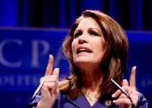 Michelle Bachmann claims her vote was stolen by Satan