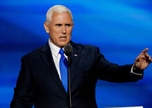 Christian college students are protesting selection of Mike Pence as commencement speaker