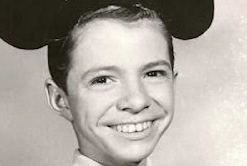 Dennis Day, gay, The Mickey Mouse Club, Mouseketeer, missing, Oregon, Ernie Caswell