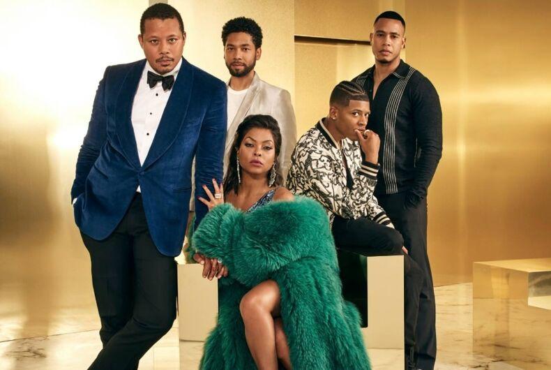 The season 4 cast of Empire