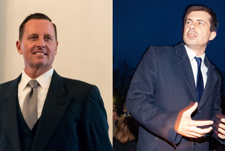 Ambassador Richard Grenell attacked out presidential candidate Pete Buttigieg on Fox News