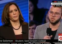 The 6 queerest moments from last night's Democratic townhalls