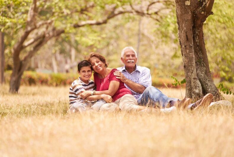 4 out of 5 grandparents would support their LGBTQ grandchild if they came out