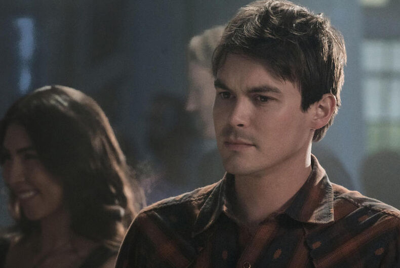 Roswell, New Mexico, Tyler Blackburn, bisexual, coming out, The CW