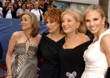 Listen to Elisabeth Hasselbeck threaten to quit 'The View' during an off-screen meltdown