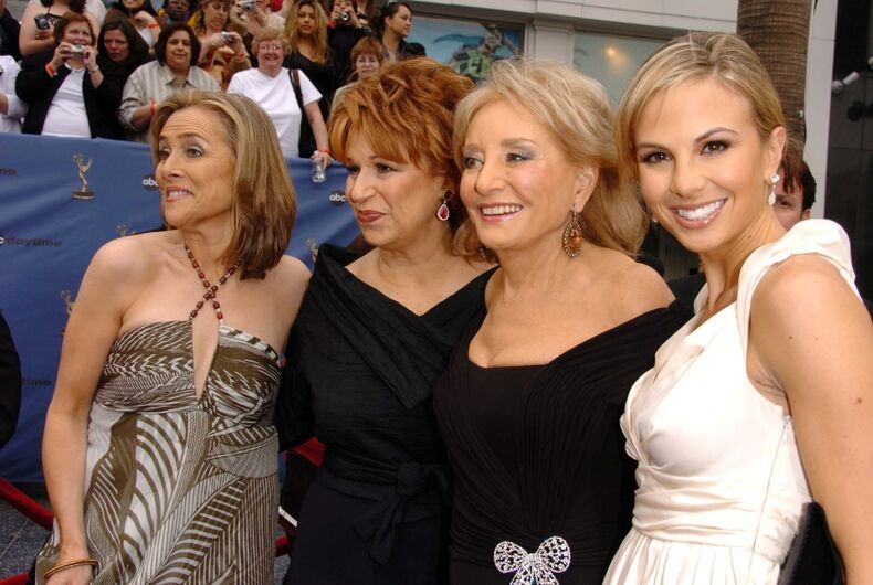 Meredith Vieira, Joy Behar, Barbara Walters and Elisabeth Hasselbeck at The 33rd Annual Daytime Emmy Awards at Kodak Theatre on April 28, 2006 in Hollywood, CA.