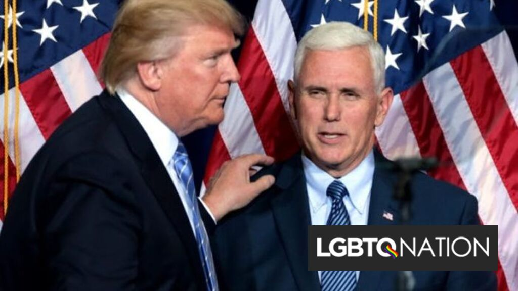 Mike Pence skips Donald Trump's send-off ceremony for Joe ...