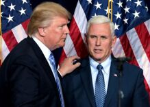 Mike Pence skips Donald Trump's send-off ceremony for Joe Biden's inauguration