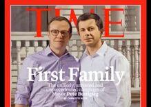 Time Magazine dubs Pete & Chasten Buttigieg the 'First Family' on cover