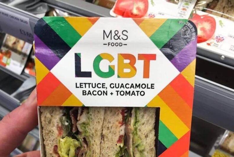 M&S's new LGBT sandwich