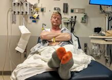 I left my hospital bed to speak at an HIV event. Why did I do it?!?