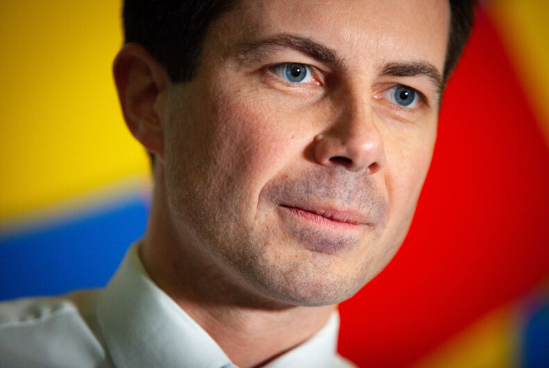 Out presidential candidate Pete Buttigieg