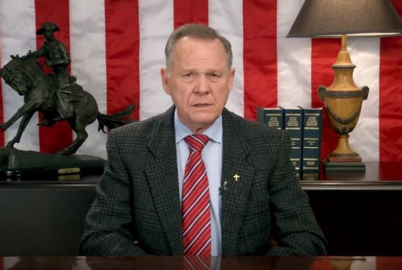 The GOP is trying to find a way to stop disgraced judge Roy Moore from running for Senate again
