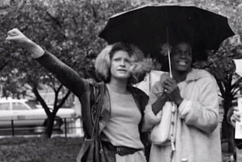 Sylvia Rivera and Marsha P Johnson