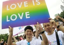 Taiwan just became the first Asian country to legalize same-sex marriages