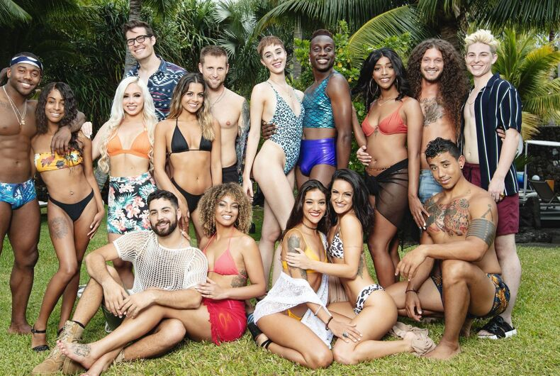 The cast of MTV's new reality dating show