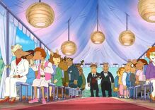 Mr. Ratburn came out & got married on the children's cartoon 'Arthur'