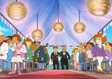 Christian activists are 'outraged' by the gay wedding on 'Arthur'