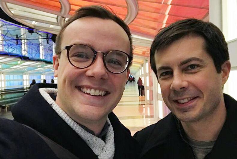 Chasten and Pete Buttigieg