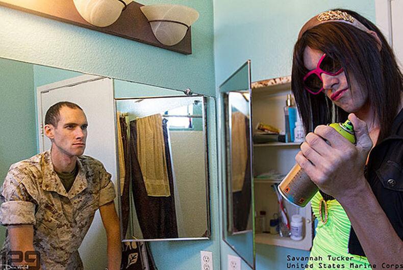 Devin Mitchell, Veteran Vision Project, LGBTQ veterans