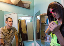 These stunning photos shows the dual-identities of LGBTQ military veterans