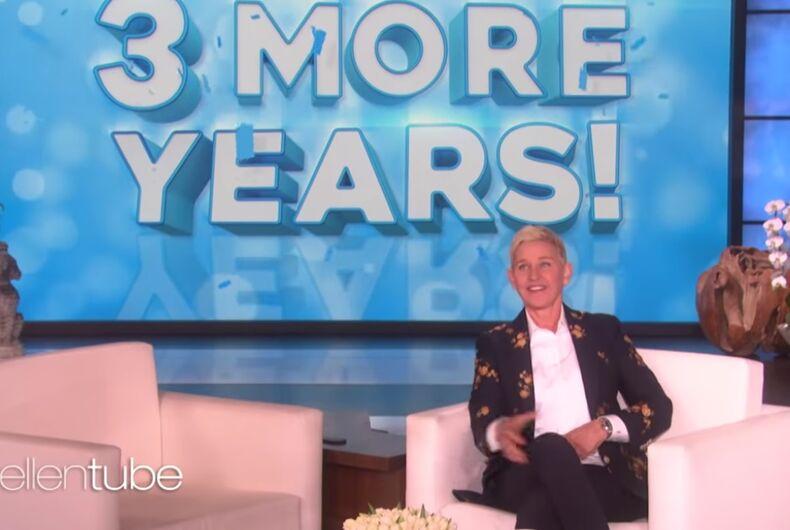Ellen with a