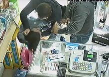 Video captures 3 homophobes attacking a gay couple in their own store
