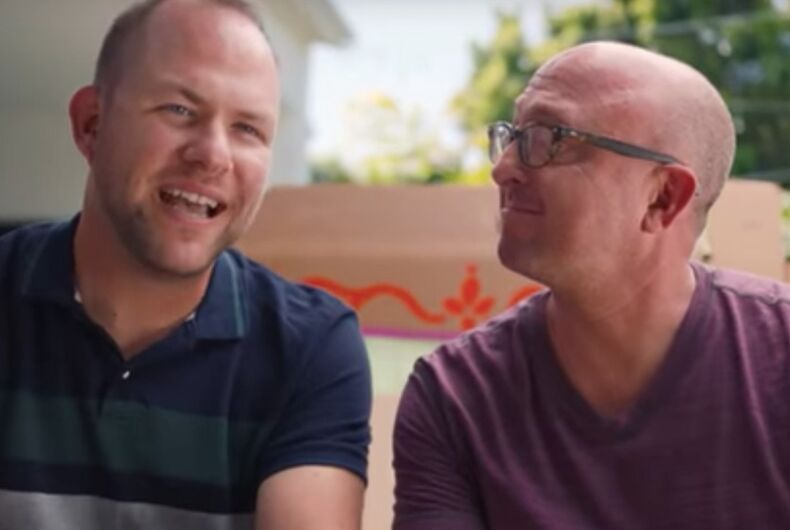 Enfamil commercial, gay dads, same-sex couple