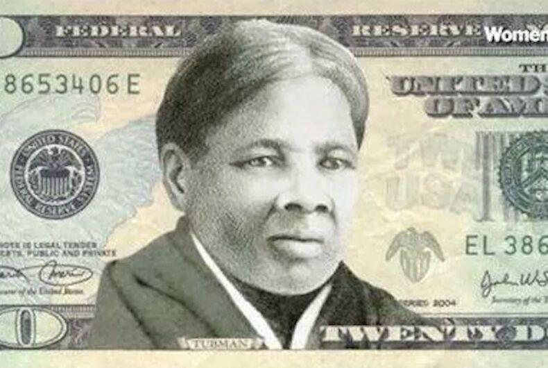 Harriet Tubman, 20 dollar bill