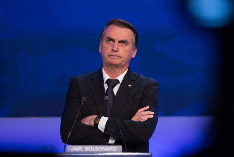 Jair Bolsonaro, Brazil, President, antigay, bigot, anti-LGBTQ