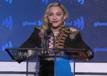 Madonna's moving speech honoring her gay friends she lost to AIDS brought the room to tears
