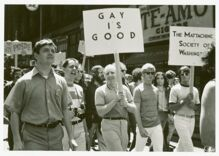 Pride in Pictures: The year after Stonewall, parades started happening across the nation
