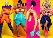 The year's 'RuPaul's Drag Race' finale pushed reveals to high-concept art