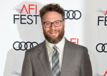 Seth Rogen knows his movies made gay people 'feel like s–t.' He's sorry about all that.